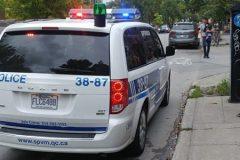 Un policier du SPVM critiqué pour s'être stationné sans raison dans une piste cyclable