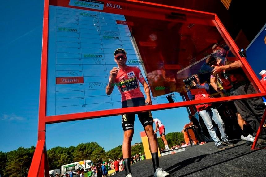 Malgré une chute, Primoz Roglic conserve la maillot rouge en Espagne