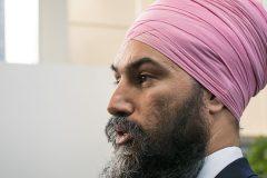 Singh estime que Trudeau aura un «choix» à faire entre le NPD et les conservateurs