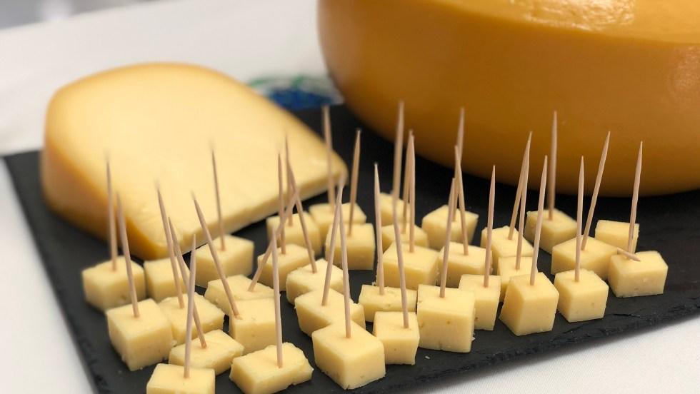 Cubes de fromage des Açores