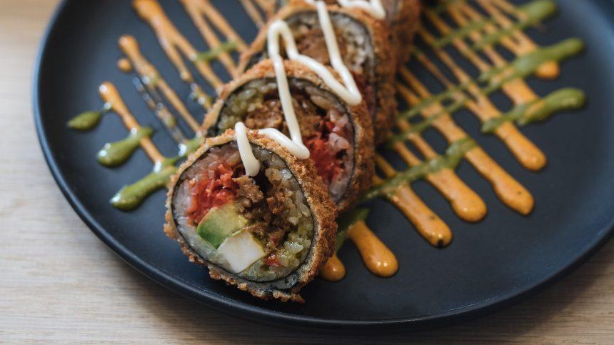 Des sushis sans poisson