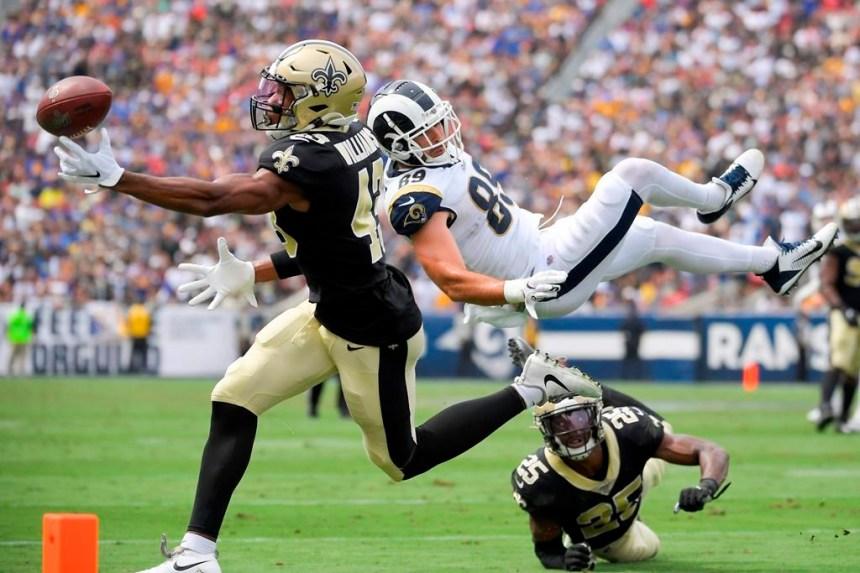 Drew Brees se blesse et les Saints ne peuvent se venger contre les Rams