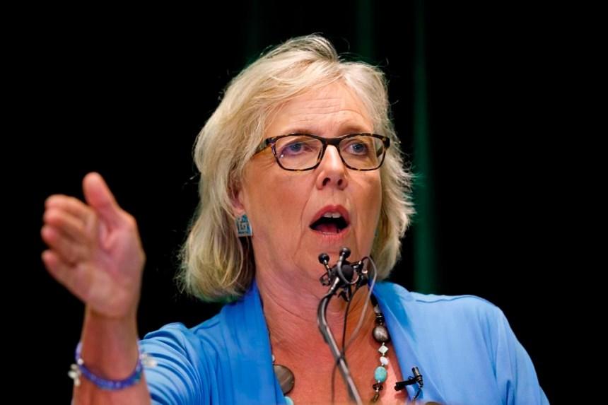 Marche pour le climat: Elizabeth May invite les chefs à se joindre à elle à Montréal