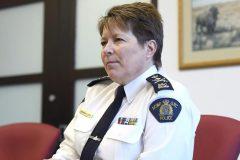 Arrestation d'un officier de la GRC: la commissaire Lucki se veut rassurante