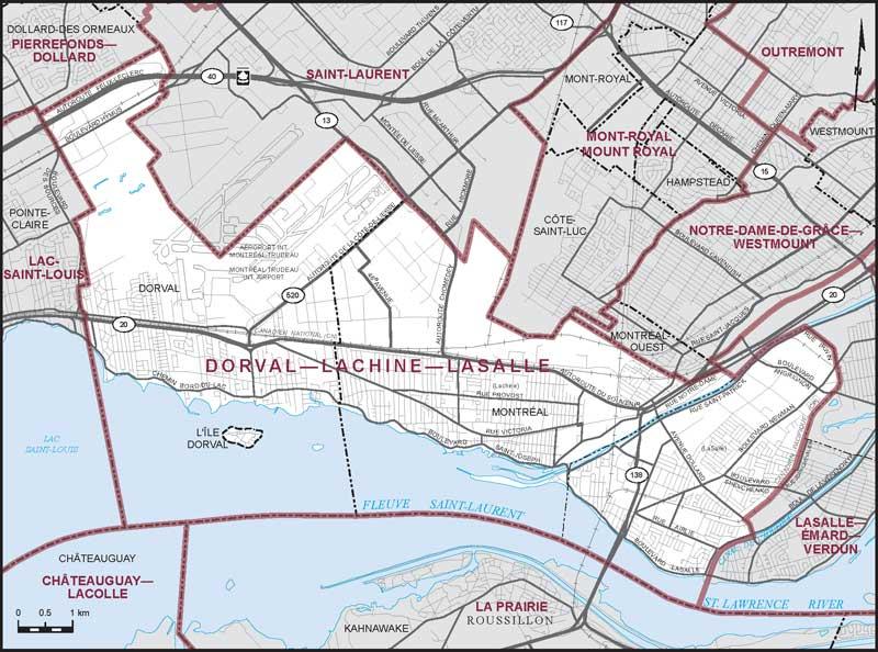 Dossier élections fédérales 2019: circonscription Dorval-Lachine-LaSalle