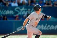 Gardner produit cinq points à Toronto, où les Yankees l'emportent 13-3