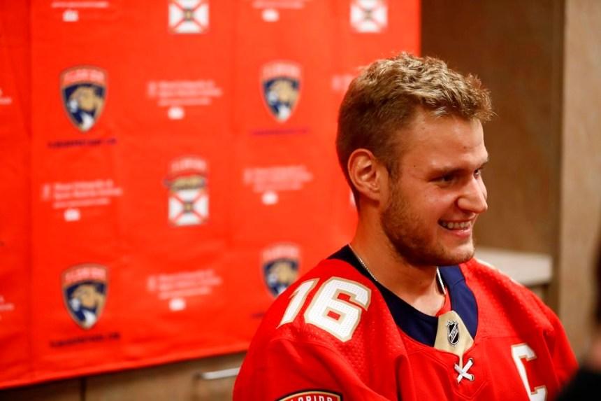 Aleksander Barkov est encore amer du résultat de la dernière saison