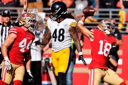 Sans grande élégance, les 49ers parviennent à battre les Steelers 24-20