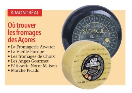 Les fromages des Açores