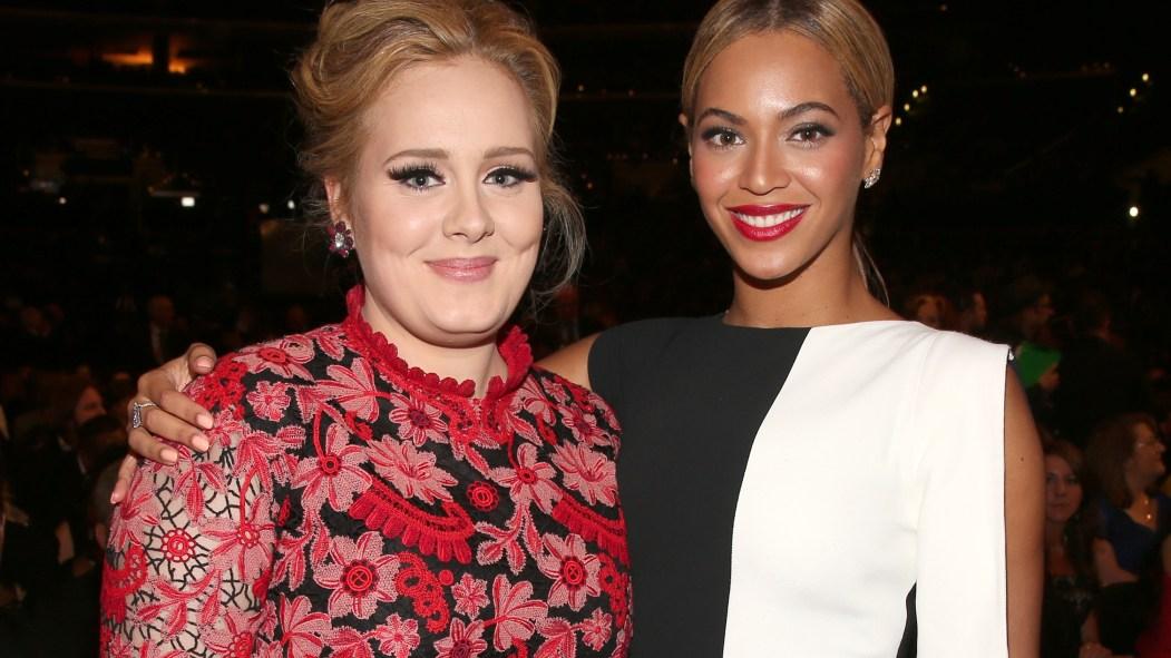 Adele et Beyoncé