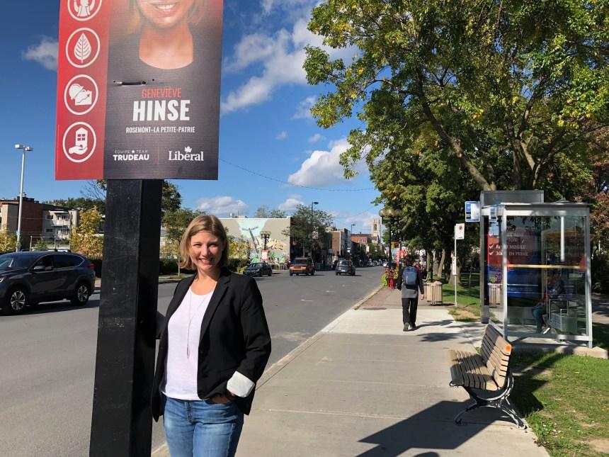 Geneviève Hinse candidate libérale dans Rosemont–La Petite-Patrie