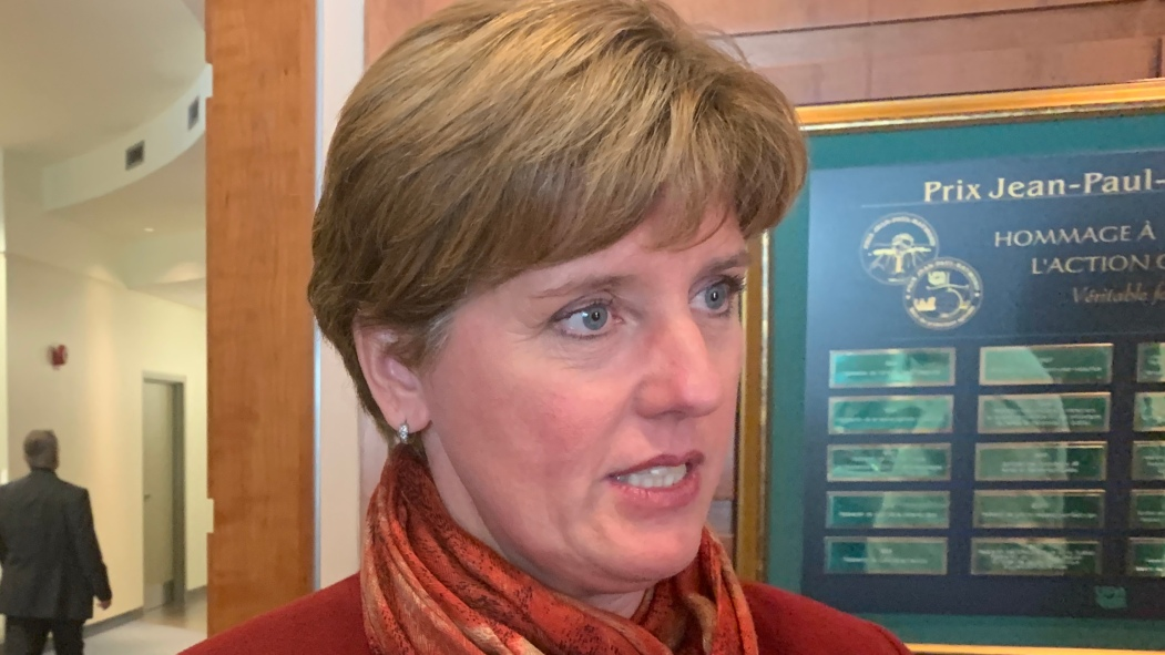 Marie-Claude Bibeau, ministre sortante de l'agriculture