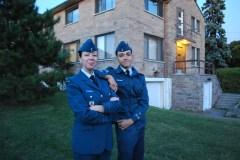 L'«air» de famille du 588 Eric Simms Squadron à Saint-Laurent