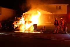 Véhicules incendiés à DDO