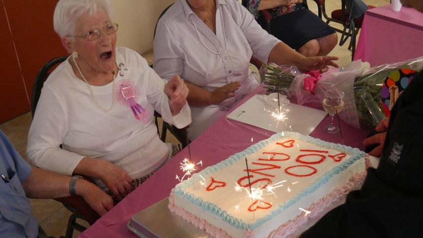 La résidence Portofino fête sa première centenaire