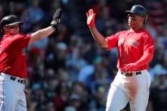 Xander Bogaerts et les Red Sox ont raison des Giants de San Francisco