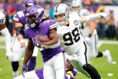 Cook brille à nouveau et les Vikings battent facilement les Raiders, 34-14