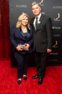 Marie-Claude Barrette et Mario Dumont