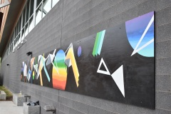 Une murale pour le skatepark de Pointe-Claire