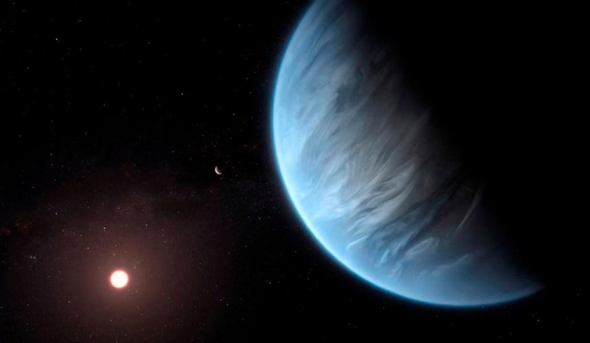 De l'eau est détectée sur une exoplanète