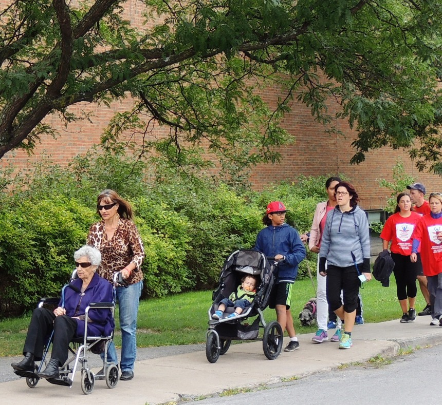 Marcher pour contrer le Parkinson
