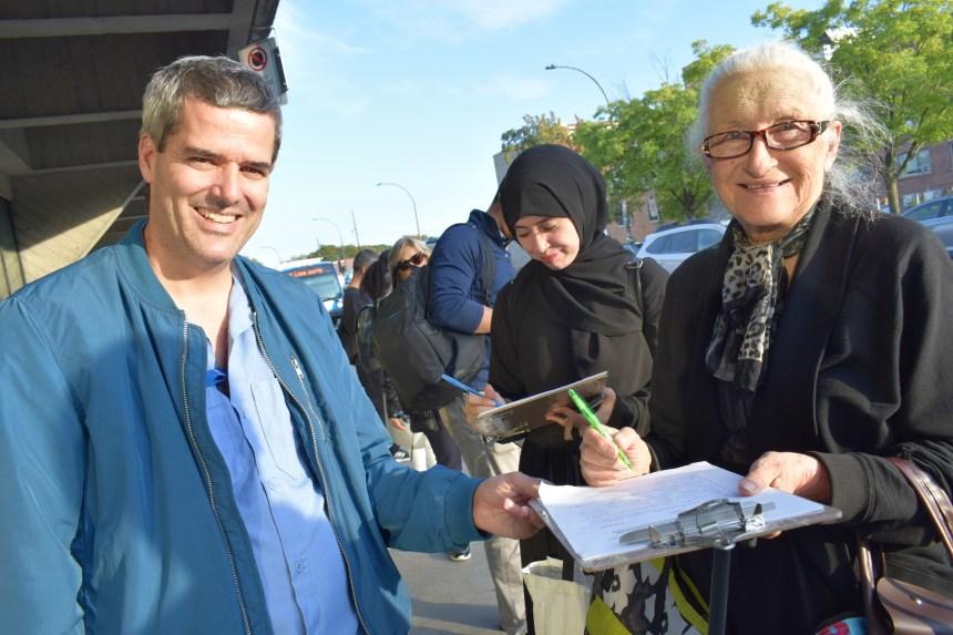 Un citoyen milite pour un meilleur réseau de bus