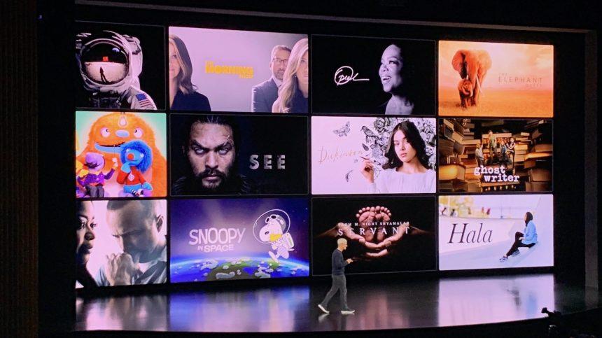 Apple TV+, Disney+… la guerre du streaming est déclarée