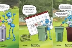 Une campagne de propreté à Ahuntsic-Cartierville