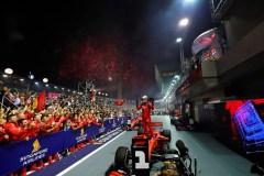 Grand Prix de Singapour: Sebastian Vettel signe une première victoire en 13 mois