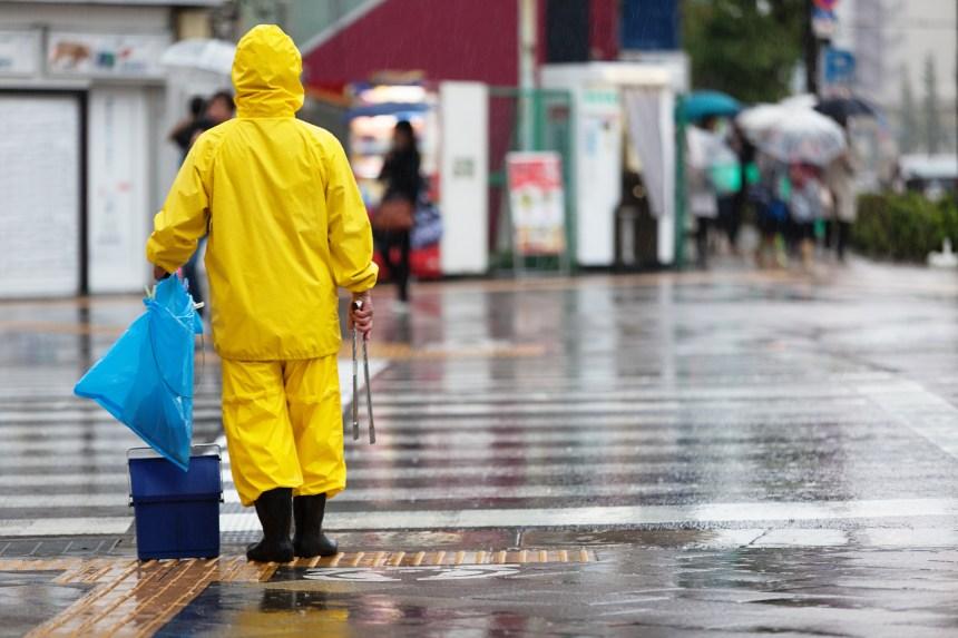 Japon: le typhon Faxai s'abat sur la région de Tokyo