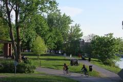 Déneigement impossible pour la piste cyclable du canal de Lachine