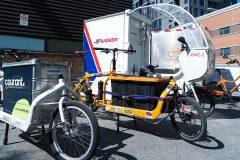 Les livraisons par des vélos-cargos gagnent du terrain