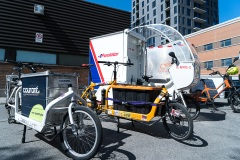 Montréal remplace des camions de livraison par des vélos