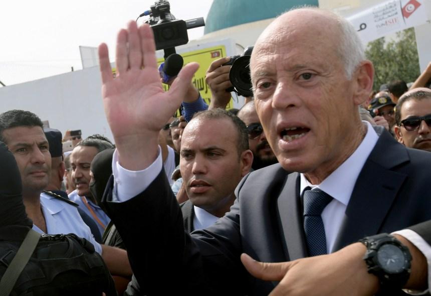 Tunisie: Kais Saied élu président selon les premières estimations