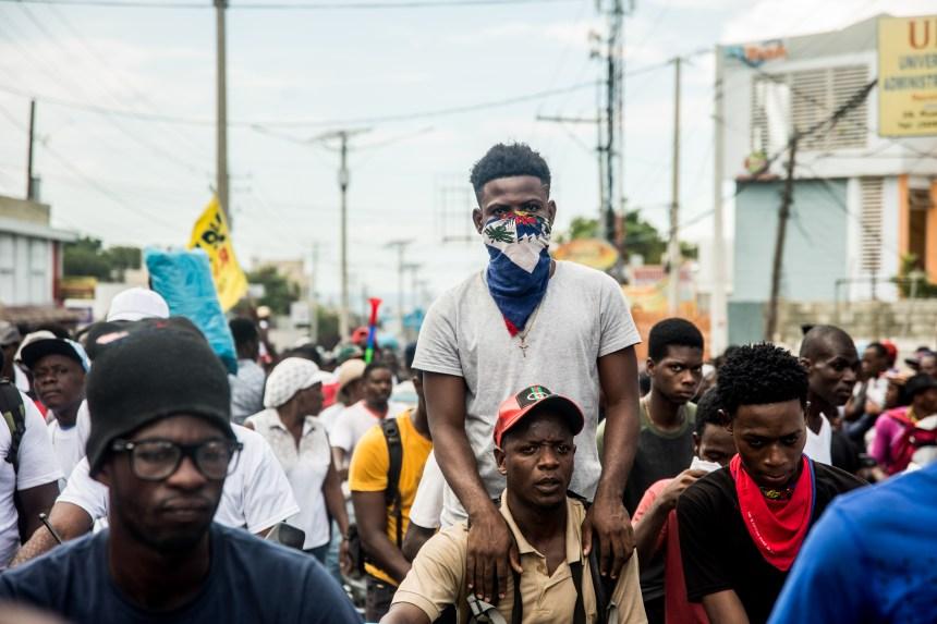 Haïti :des milliers de manifestants anti-Jovenel à Port-au-Prince