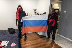 Russie: quand la répression policière inspire la mode