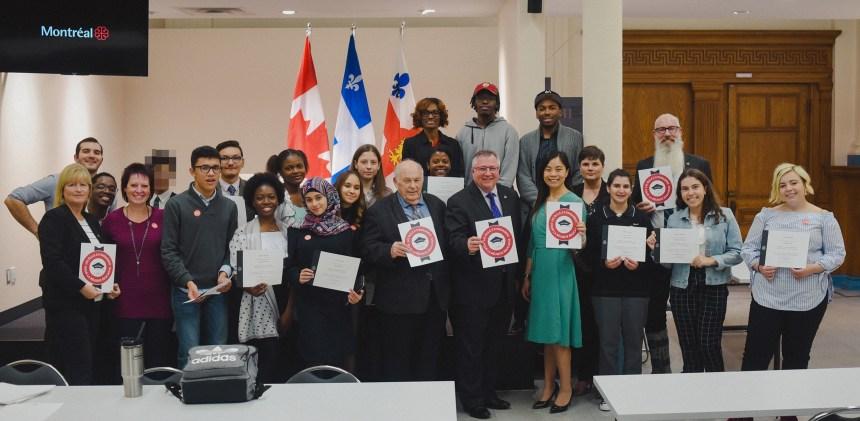 Des jeunes de Saint-Léonard à la découverte de la politique municipale