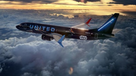 United Airlines embarque ses passagers à bord d'un avion aux couleurs de «Star Wars»