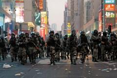 Hong Kong: un manifestant prodémocratie blessé par balle