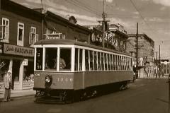 Retrait des derniers tramways à Lachine