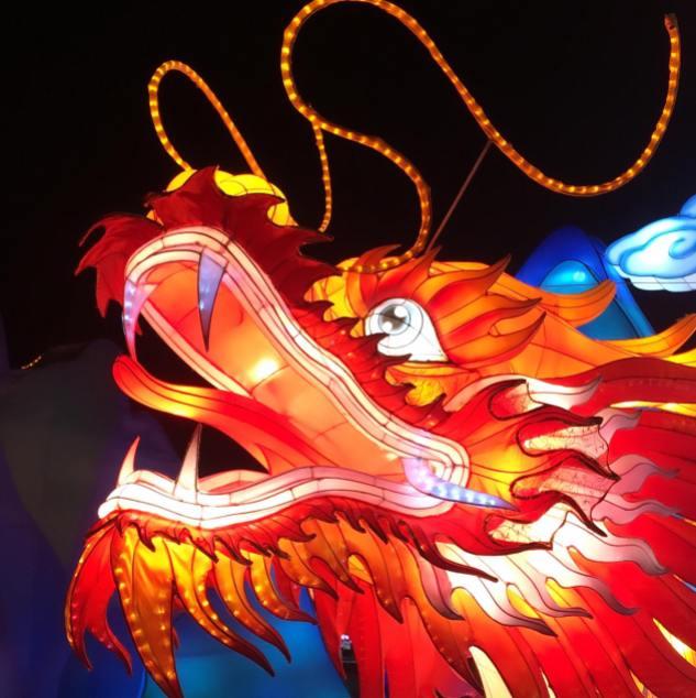 Festival de lanternes Feux Follets