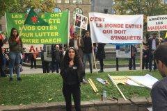 Vague de soutien aux Kurdes à Montréal