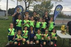 Le bronze pour l'équipe féminine de soccer Lachine SC