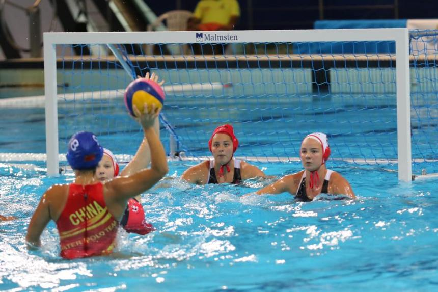 L'équipe junior canadienne de water-polo arrive 10e au Portugal