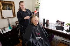 Popularité de la coiffure à domicile