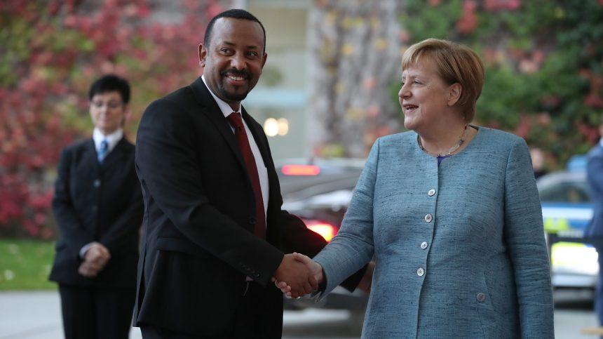 Le prix Nobel de la paix décerné à Abiy Ahmed, premier ministre de l'Éthiopie