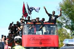 Les Raptors vivront les dernières célébrations avant les choses sérieuses