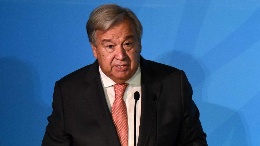 Climat: Guterres appelle à faire pression sur les gouvernements