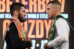 Beterbiev bat Gvozdyk et unifie les titres IBF et WBC des poids mi-lourds