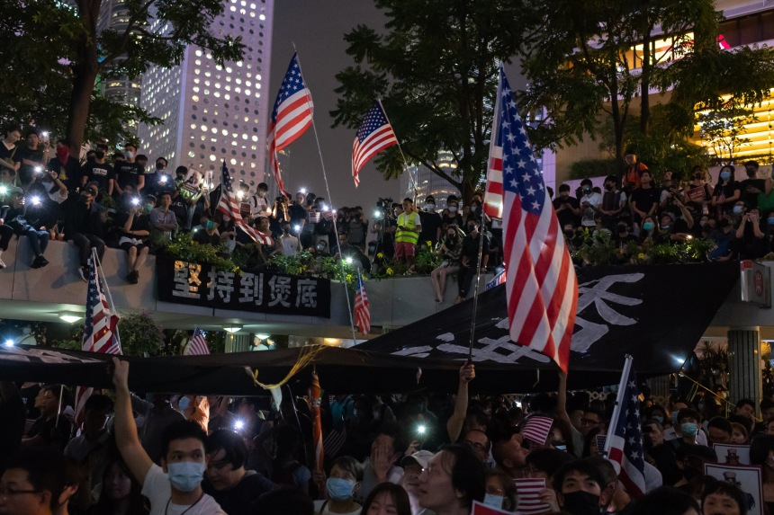 Hong Kong: Pékin exprime son «indignation» après un vote du Congrès américain